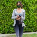 Eiza Gonzalez – Seen after a sweaty Pilates session in West Hollywood