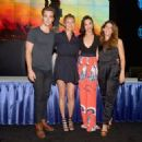 Chris Pine, Connie Nielsen, Gal Gadot and the director Patty Jenkins - July 23, 2016- 'Wonder Woman' Cast Signing at San Diego Comic-Con 2016 - 454 x 325