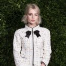 Lucy Boynton attends the Charles Finch & Chanel pre-BAFTA's dinner at Loulou's on February 09, 2019 in London, England - 400 x 600