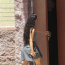 Kim Kardashian – Leaves a studio in Los Angeles