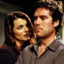 Alexis Denisof and Stephanie Romanov