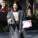 Shenae Grimes on the set of '90210' (March 19)
