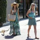 Paris and Nicky Hilton Seen Out In Malibu