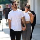 Nikki Bella – out for a lunch in Studio City