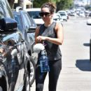 Ashley Tisdale at the gym in Studio City