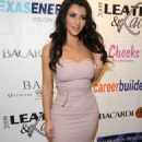 Kim Kardashian - 6 Annual Leather And Laces Celebration In Tampa, 30.01.2009.