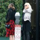 Gwen Stefani lunches with Jennifer Meyer at Mr. Chow in Beverly Hills, California on January 10, 2014