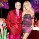 Izabella St. James and Hugh Hefner - 454 x 710