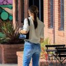 Selma Blair in Jeans at Alfred's coffee in Studio City - 454 x 681