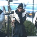 Emily Ratajkowski in Long Coat – Out in NYC