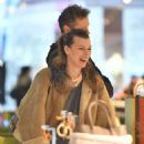 Milla Jovovich – Shopping at the Prada store in Beverly Hills - 454 x 613