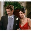Matthew Perry and Courteney Arquette