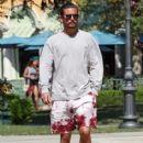 Scott Disick  out running errands in Calabasas, California on August 2, 2016 - 414 x 600