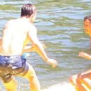Nina Dobrev in Bikini on Lake Coeur d'Alene in Idaho