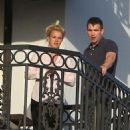 Britney Spears - Chain smoking on the balcony of the London Hotel in Beverly Hills Feb 24, 2011