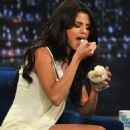 "Selena Gomez Drops By ""Late Night with Jimmy Fallon"""
