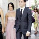 Cesc Fàbregas and Carla at Julio Baptista Wedding - 400 x 638