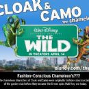 The Wild character card - Cloak and Camo