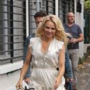 Pamela Anderson – Arriving at Strictly Come Dancing in Paris - 454 x 890