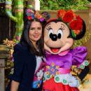 Salma Hayek at Disneyland in Paris