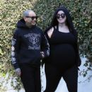 Kat Von D and Rafael Reyes – Goes for a hike in Los Angeles - 454 x 681