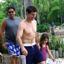Tom Cruise and Suri having a magical time at Disney World (August 1)
