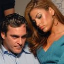 Eva Mendes and Joaquin Phoenix