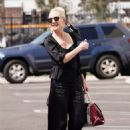 Anne Heche – In all black as she is seen at the Dancing with the Stars studio