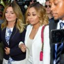 Blac Chyna At a Courthouse in Los Angeles, California - July 10, 2017 - 400 x 600