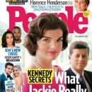 Jacqueline Kennedy Onassis and John F. Kennedy - People Magazine Cover [United States] (12 December 2016)