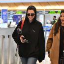 Dua Lipa – Arrives at LAX International Airport in LA - 454 x 624