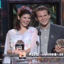 Marisa Tomei and Christian Slater At The 1993 MTV Movie Awards - 454 x 311