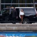 Angelina Jolie meeting with Secretary General of the UN, Antonio Guterres