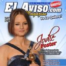 Jodie Foster - El Aviso Magazine Cover [United States] (26 January 2013)