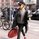 Sienna Miller Street Style Out and About In New York