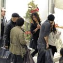 Eva Longoria,Eduardo Cruz shops in a mall along with Eduardo's sister, Monica Cruz