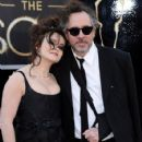 Helena Bonham Carter and Tim Burton At The 85th Annual Academy Awards (2013) - 425 x 594