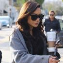 Naya Rivera is spotted filming a unknown show in West Hollywood, California on January 24, 2017 - 435 x 600