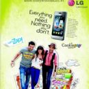 John, Abhay and Genelia Shoots for LG Cookie advert - 454 x 621