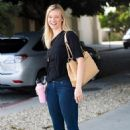 Amy Smart - Leaves An Audition In Beverly Hills - July 20, 2010