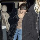 Selena Gomez – Out for dinner at Patara in Soho