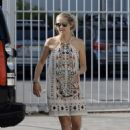 Teresa Palmer in Mini Dress – Out in Hollywood - 454 x 642