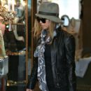 Fergie Shops Then Lunches in London