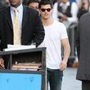 Taylor Lautner Visits Jimmy Kimmel Live May 24, 2011
