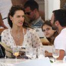 Alessandra Ambrosio and Jamie Mazur Boating While in Ibiza 7/3/2016 - 454 x 335