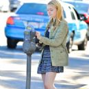 Dakota Fanning at Opening Ceremony in West Hollywood - 2010-11-05