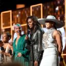 Lady Gaga, Jada Pinkett Smith, Alicia Keys, Michelle Obama, and Jennifer Lopez At The 61st Annual Grammy Awards - Show - 454 x 303