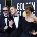 Joaquin Phoenix, Taron Egerton and Emily Thomas At 77th Golden Globe Awards (2020) - 454 x 322
