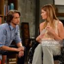 Michelle Stafford and Michael Easton