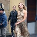 Suki Waterhouse Photoshoot for Ferragamo in Florence